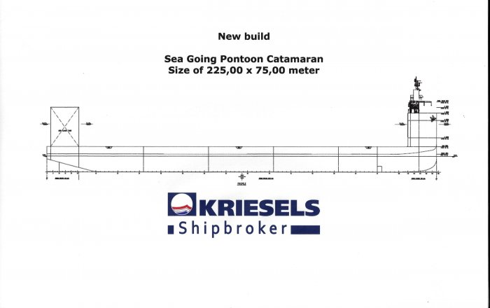 Pontoon Catamaran, Professional ship(s)  for sale by Kriesels Shipbroker BV