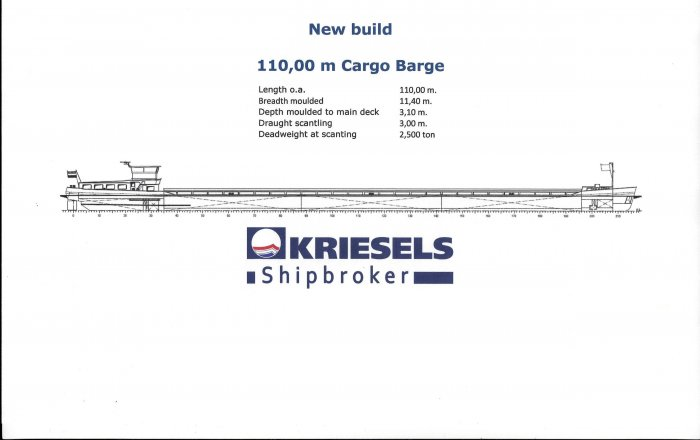 New Build, Professional ship(s)  for sale by Kriesels Shipbroker BV