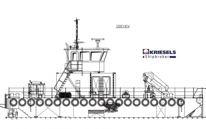 Modular Carrier/Workboat, Professional ship(s)  for sale by Kriesels Shipbroker BV