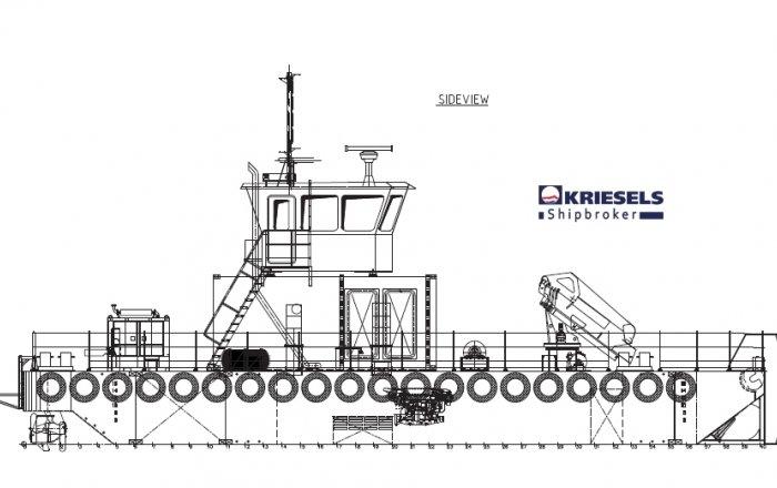 Modular Carrier/Workboat, Professional ship(s)  for sale by Kriesels Shipbroker BV