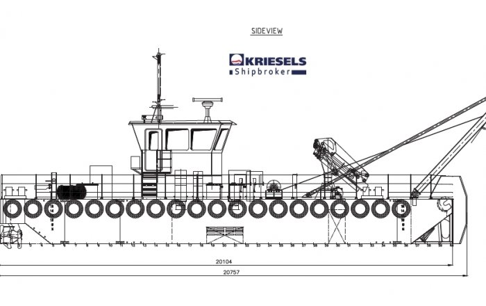Modular Carrier/Workboat, Beroepsschip  for sale by Kriesels Shipbroker BV