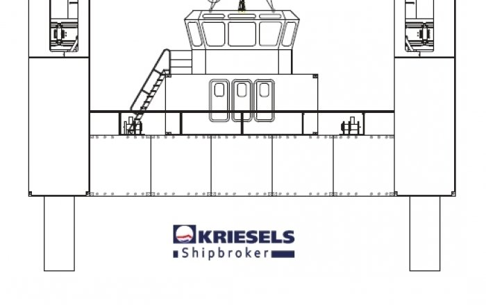 Multi-purpose Jack-up Barge, Professional ship(s)  for sale by Kriesels Shipbroker BV