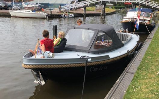 Langenberg Vlet, Sloep  for sale by AWS Watersport