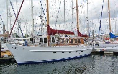 De Vries Lentsch Sailing Cutter, Plat- en rondbodem, ex-beroeps zeilend  for sale by Raising Anchors