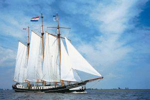 Woon/charterschip Klipper 39.00 Meter - BOD GEVRAAGD, Plat- en rondbodem, ex-beroeps zeilend  for sale by Scheepsmakelaardij Scheepszaken