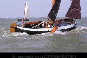 Lemsteraak 13.42 ( Van 2005 ) Visserman, Plat- en rondbodem, ex-beroeps zeilend  for sale by Scheepsmakelaardij Scheepszaken