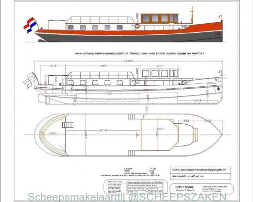 , Traditional/classic motor boat  for sale by Scheepsmakelaardij Scheepszaken