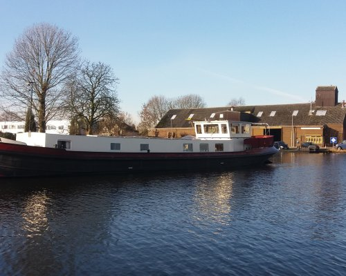 , Ex-commercial motor boat  for sale by Scheepsmakelaardij Scheepszaken