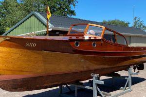Petterson 7.60 Snaaie ( Smokkelboot ), Klassiek/traditioneel motorjacht  for sale by Scheepsmakelaardij Scheepszaken