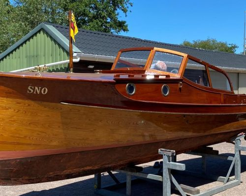 Petterson 7.60 Snaaie ( Smokkelboot ), Klassiek/traditioneel motorjacht  for sale by Scheepsmakelaardij Scheepszaken
