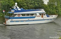 Displacement 65Ft Motoryacht + 2x spudpaal, Motorjacht