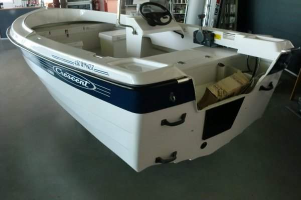 Crescent 450 Winner, Open motorboot en roeiboot Crescent 450 Winner te koop bij MD Jachtbemiddeling