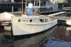 Bakdek Kruiser Camminga, Klassiek/traditioneel motorjacht Bakdek Kruiser Camminga te koop bij MD Jachtbemiddeling
