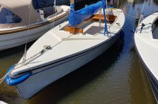 Poly Valk Met Yamaha Motor, Open sailing boat Poly Valk Met Yamaha Motor te koop bij MD Jachtbemiddeling