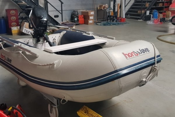 Rubberboot Honwave, RIB en opblaasboot Rubberboot Honwave te koop bij MD Jachtbemiddeling