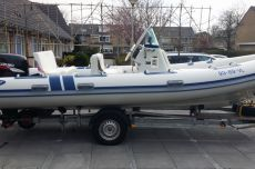 Northstar 195 RT Met Trailer, RIB and inflatable boat Northstar 195 RT Met Trailer te koop bij MD Jachtbemiddeling