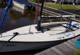 Poly Valk Met Rolfok & Yamaha Motor, Open sailing boat Poly Valk Met Rolfok & Yamaha Motor for sale by MD Jachtbemiddeling
