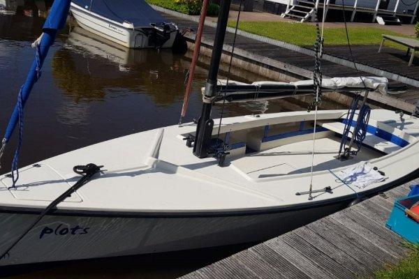 Poly Valk Met Rolfok & Yamaha Motor, Open zeilboot Poly Valk Met Rolfok & Yamaha Motor te koop bij MD Jachtbemiddeling