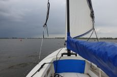 Poly Valk Met Rolfok & Yamaha 4pk / 4-takt Motor, Open sailing boat Poly Valk Met Rolfok & Yamaha 4pk / 4-takt Motor te koop bij MD Jachtbemiddeling