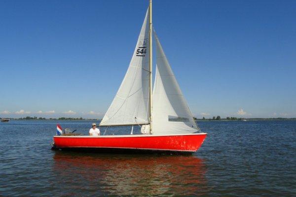 Randmeer Classic Met 4 Pk Yamaha (2015), Open sailing boat Randmeer Classic Met 4 Pk Yamaha (2015) te koop bij MD Jachtbemiddeling