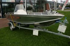 Tuna 410 OC Met Trailer & 8pk Tohatsu, Sloep Tuna 410 OC Met Trailer & 8pk Tohatsu te koop bij MD Jachtbemiddeling