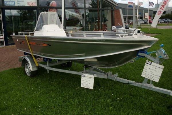 Tuna 410 OC Met Trailer & 8pk Tohatsu, Tender Tuna 410 OC Met Trailer & 8pk Tohatsu te koop bij MD Jachtbemiddeling