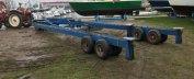30 Tons Hydraulische botenwagen