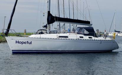 Dufour 36 Classic (2 Hutten), Zeiljacht for sale by Havenmakelaar