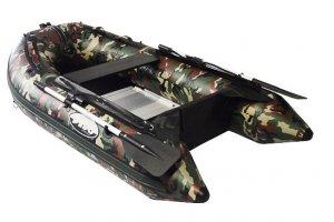 Debo DB 300 Camouflage, RIB en opblaasboot  for sale by Watersport Paradise