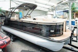 Harris Solstice 240 pontoonboot, Multihull motorboot  for sale by Watersport Paradise