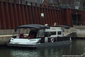 Watercamper Pontoonboot, Multihull motorboot  for sale by Watersport Paradise