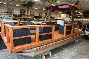 Katago 680 Pontoonboot, Multihull motorboot  for sale by Watersport Paradise