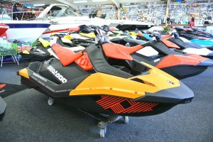 Sea Doo Spark Trixx 2-UP, Jetskis en waterscooters  for sale by Watersport Paradise