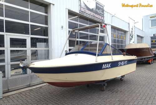 , Open motorboot en roeiboot  for sale by Watersport Paradise