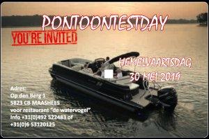 Pontoon Testday 30 MEI (hemelvaart), Multihull motorboot  for sale by Watersport Paradise